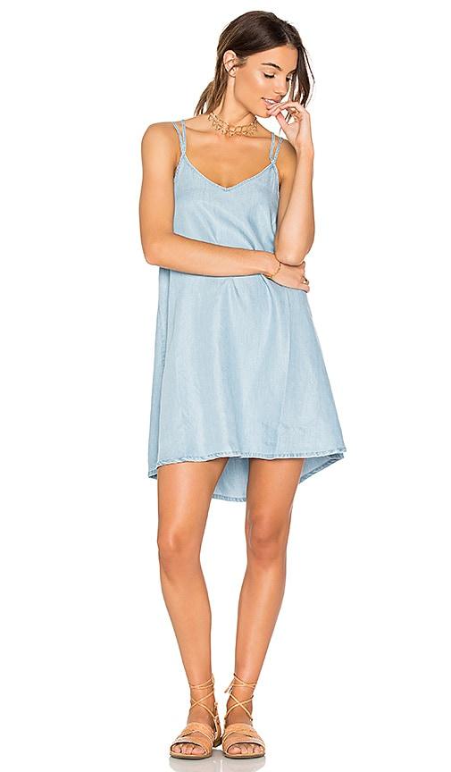 RVCA Salene Dress in Blue
