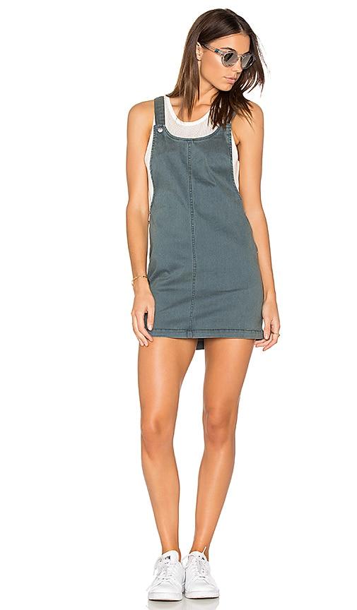 9a79d2e35bd5 RVCA Oxley Dress in Stone Blue