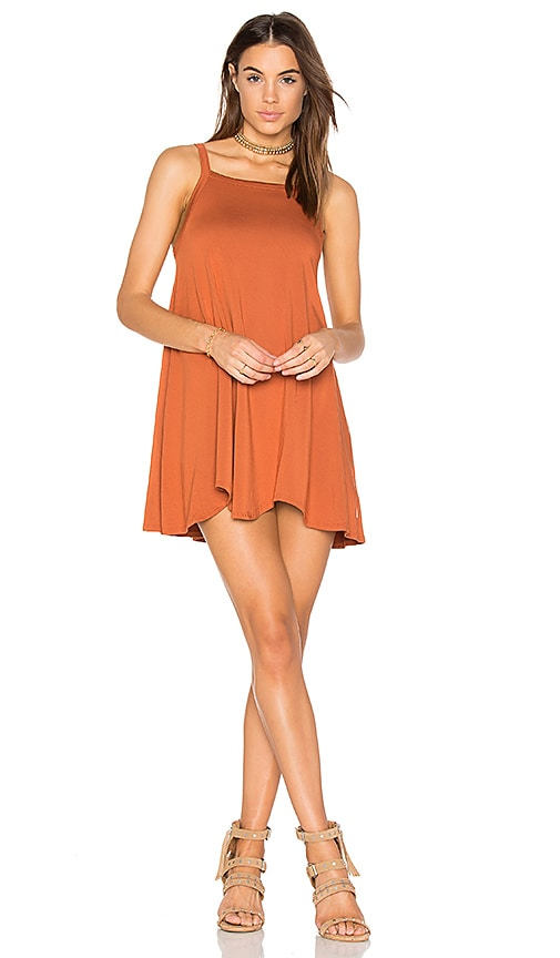 RVCA Thievery Dress in Red