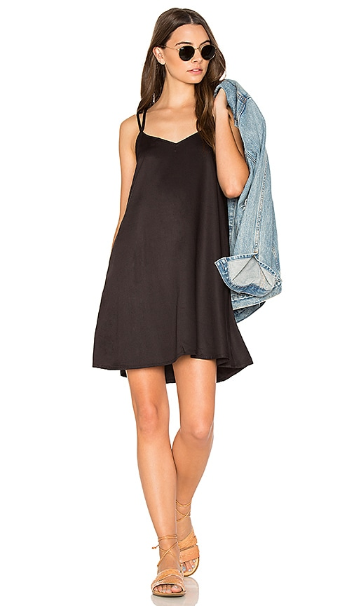 RVCA Naveena Dress in Black
