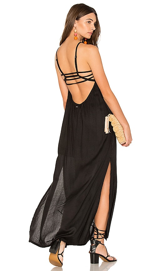 RVCA Hazel Maxi Dress in Black