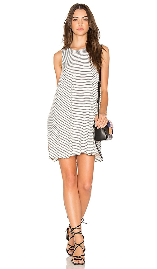 RVCA Sucker Punch Stripe Dress in White