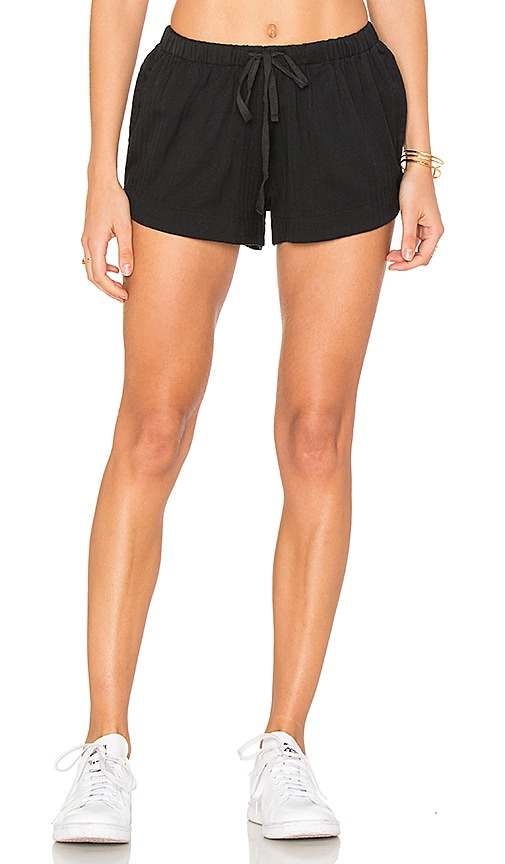 RVCA Yume Short in Black