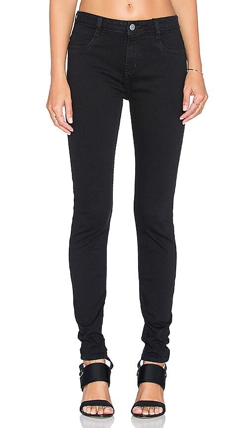 RVCA HI Roader Skinny Jean in Black