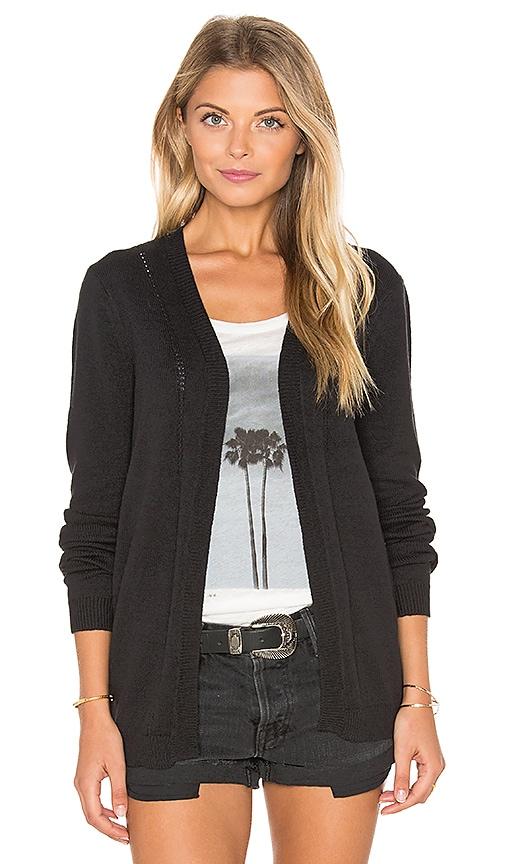 RVCA Sayso Cardigan in Black