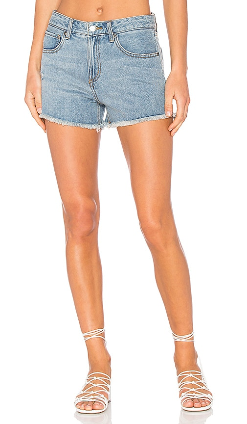 RVCA The Boyfriend Short in Vintage Blue