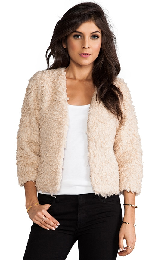 Browne Faux Fur Jacket