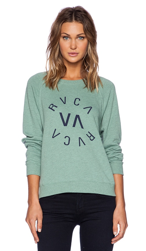 Circular Raglan Sweatshirt