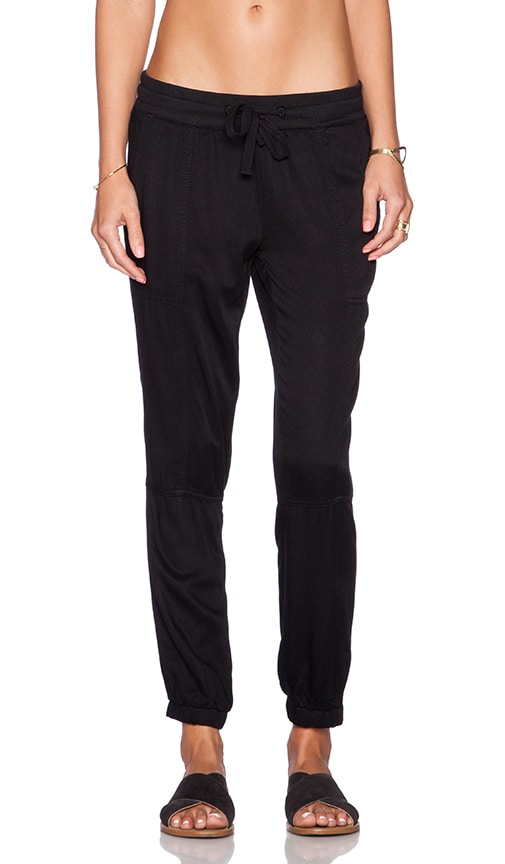 RVCA Roundhouse Track Pant in Black