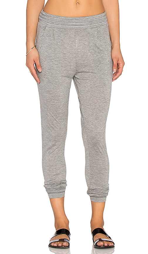 RVCA Anydaze Pant in Heather Grey