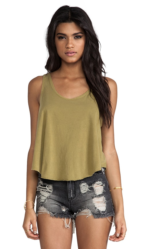 Label Drape Tank