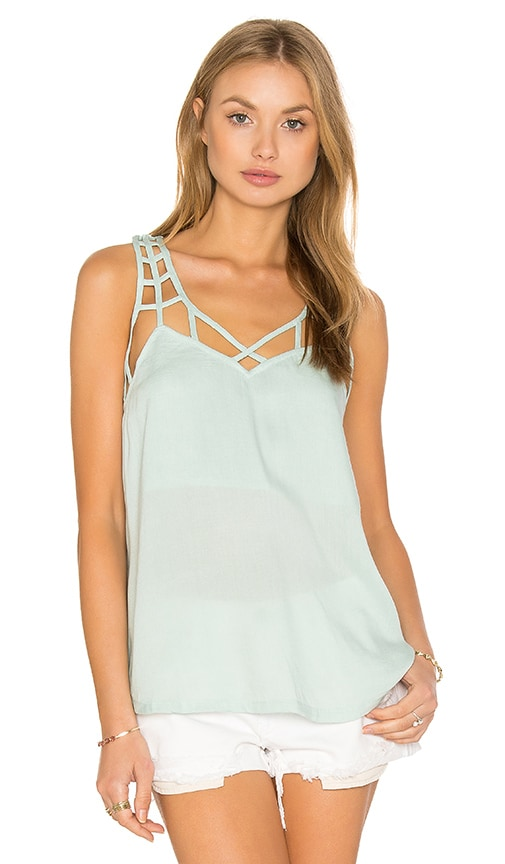 RVCA Jenkins Tank in Mint