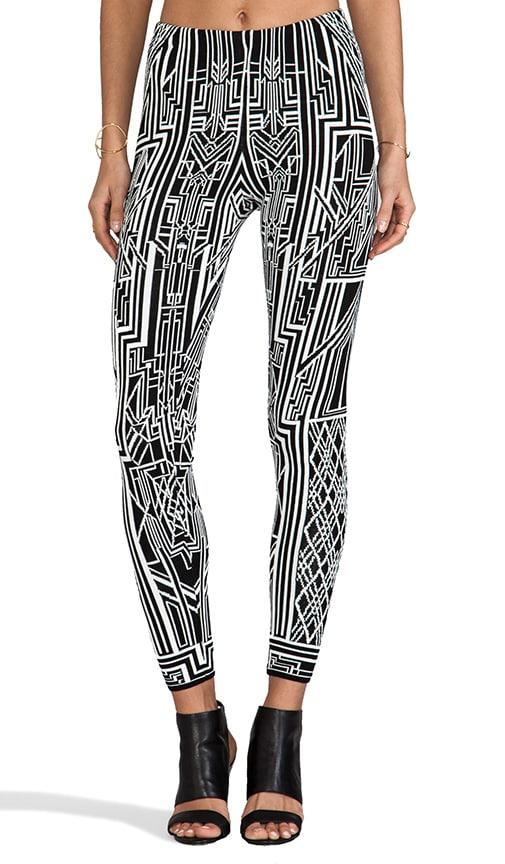 Tron Flat Jacquard Pants