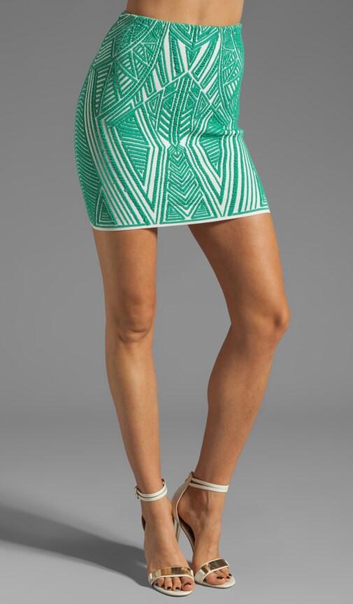 Aztec Jacquard Skirt