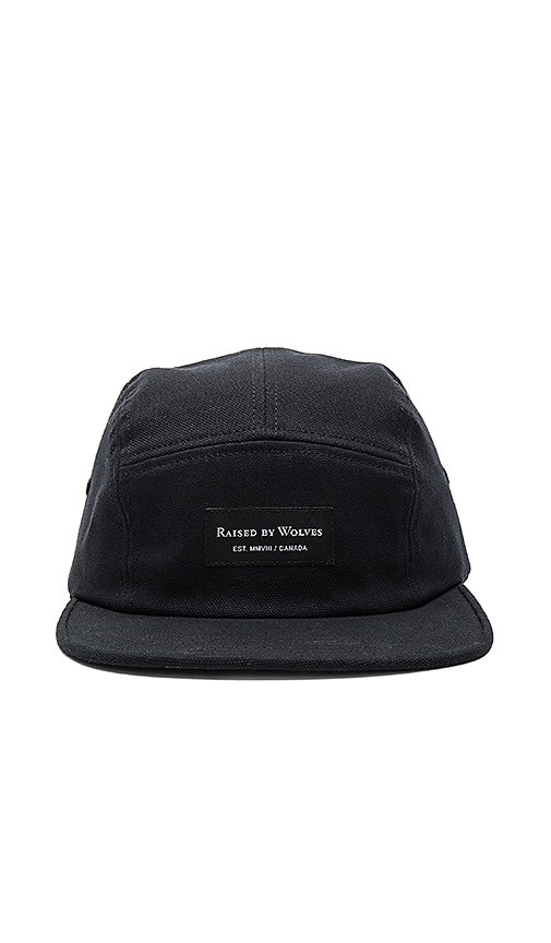 Raised by Wolves Halifax Camp Cap in Black