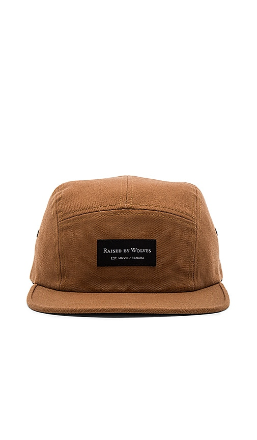 Raised by Wolves Halifax Camp Cap in Tan