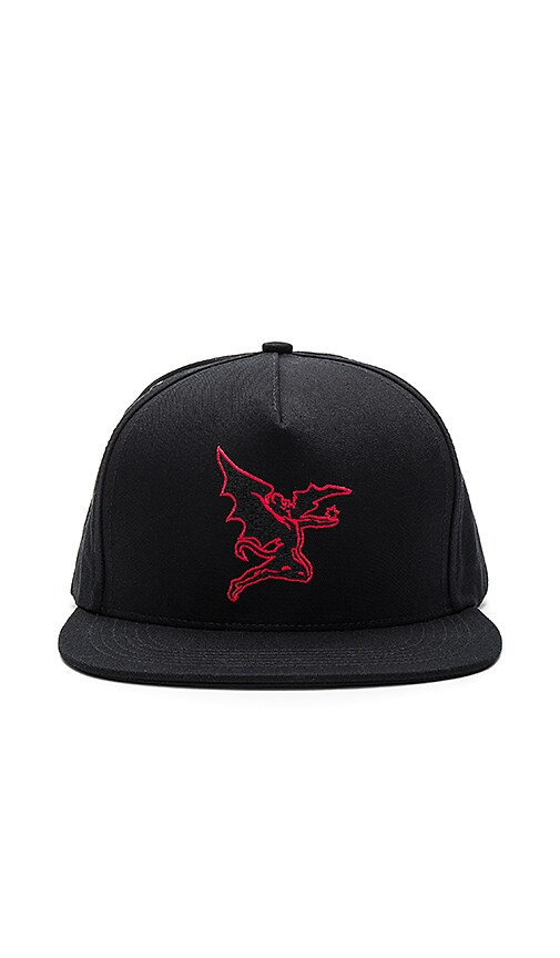 Raised by Wolves x Black Sabbath Creature Strapback in Black