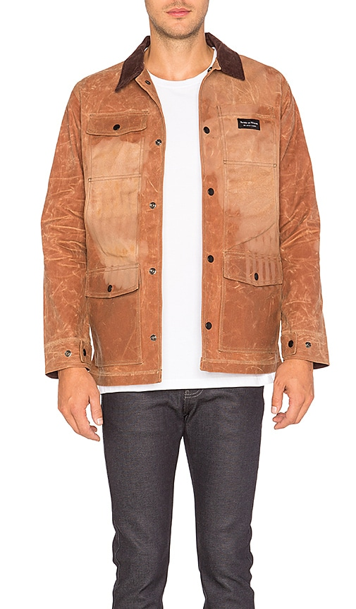 Raised by Wolves Renfrew Work Jacket in Brown
