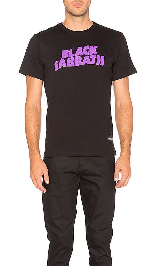 Raised by Wolves x Black Sabbath Master of Reality Tee in Black