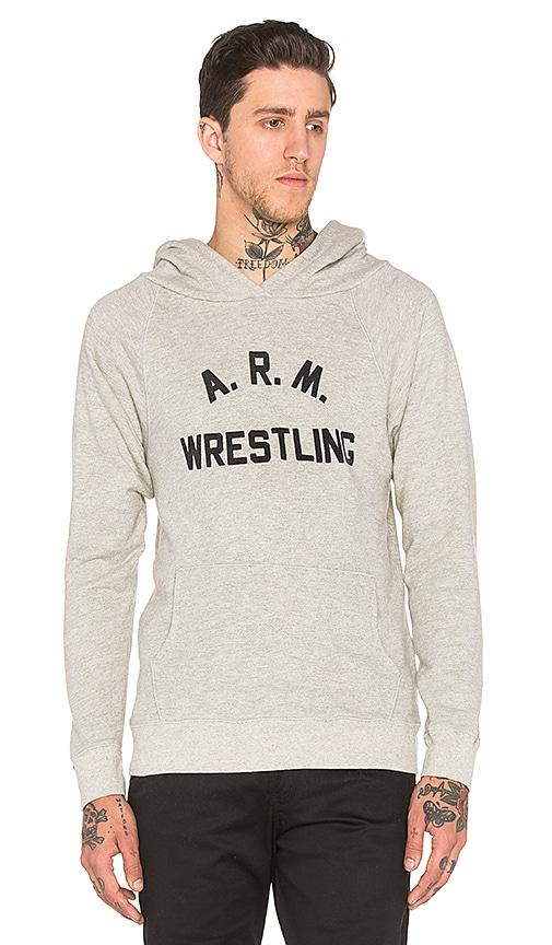 Rxmance Arm Wrestling Hoody in Oatmeal