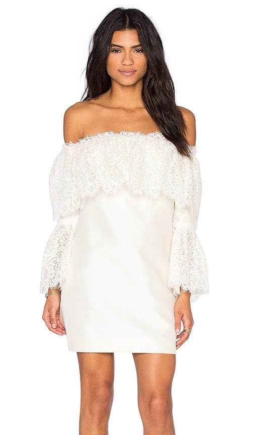 RACHEL ZOE Sailor Dress in Ivory