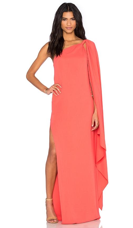 RACHEL ZOE Candace Dress in Coral