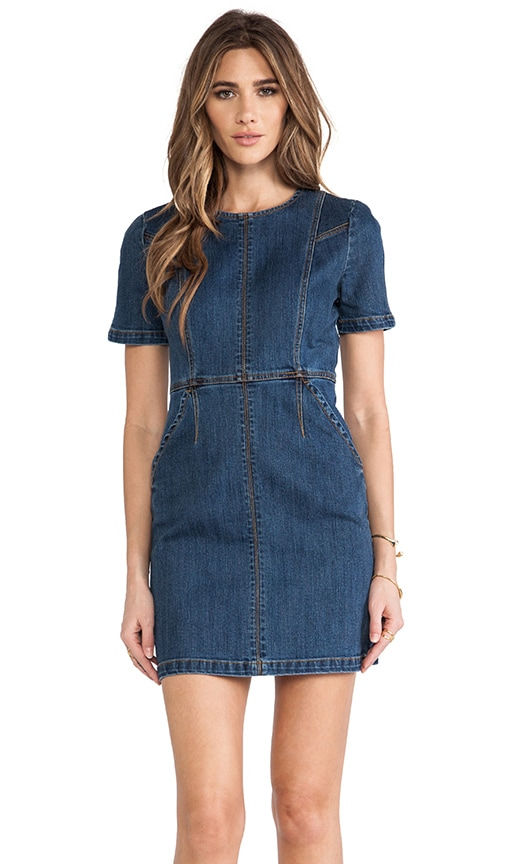 Callie Denim Dress