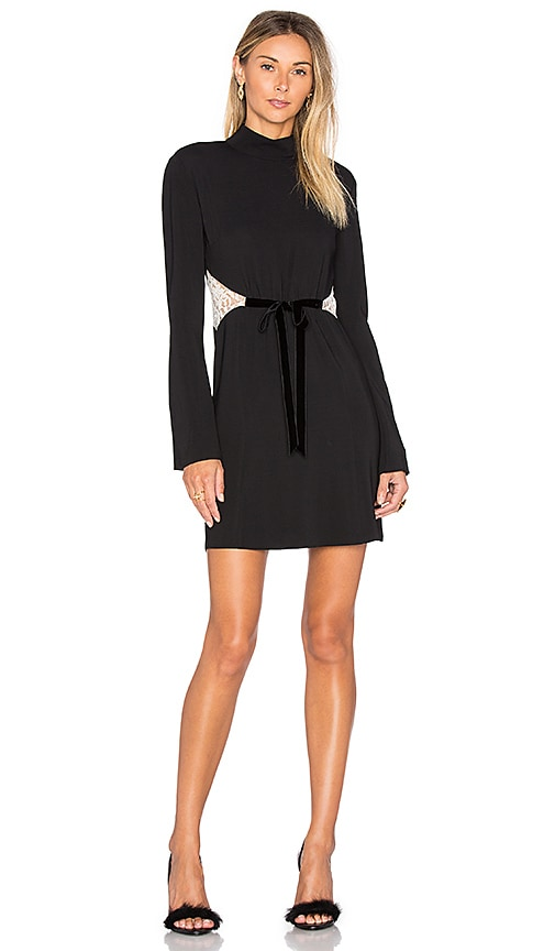 RACHEL ZOE Kristi Dress in Black