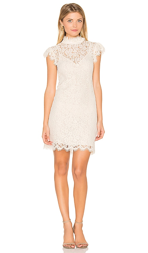RACHEL ZOE Joss Dress in White