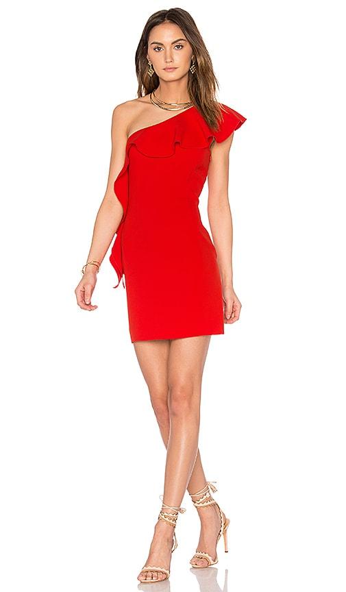 RACHEL ZOE Zoey Dress in Red