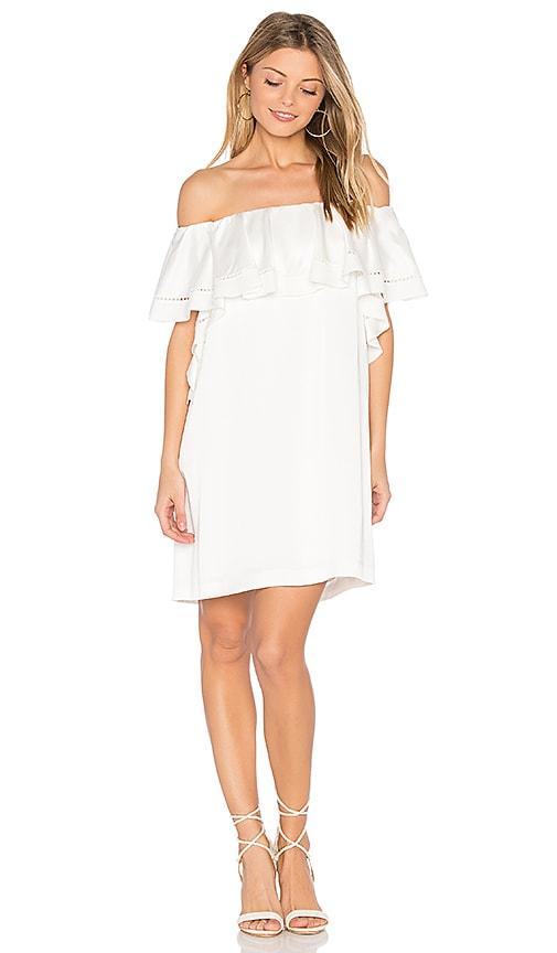 RACHEL ZOE Madelyn Dress in White