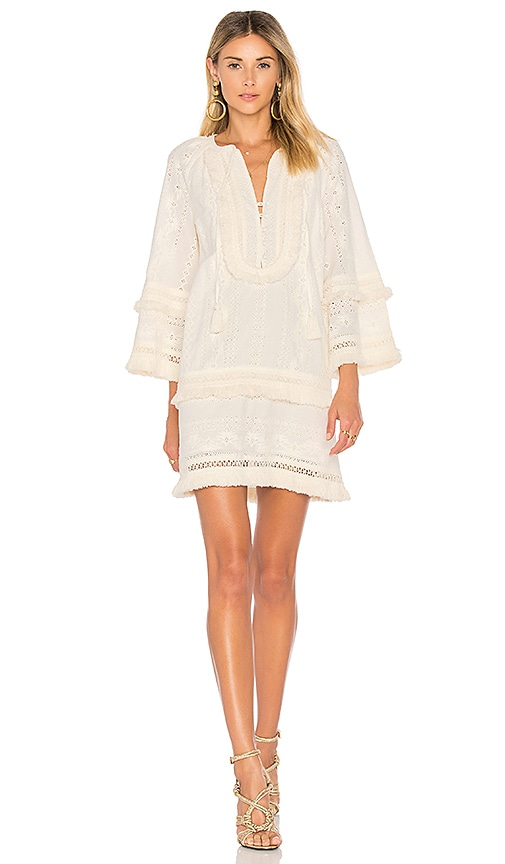 RACHEL ZOE Abigail Dress in Cream