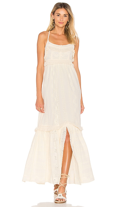 RACHEL ZOE Riley Dress in Cream