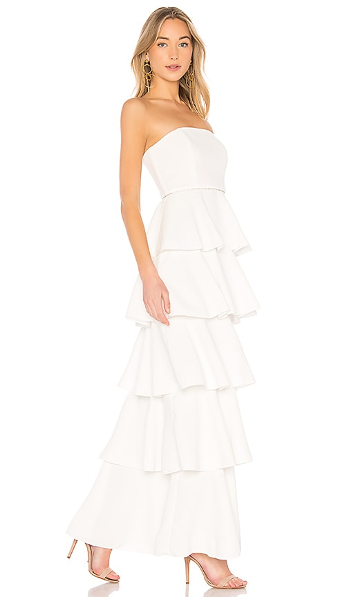 RACHEL ZOE Olympia Dress in White