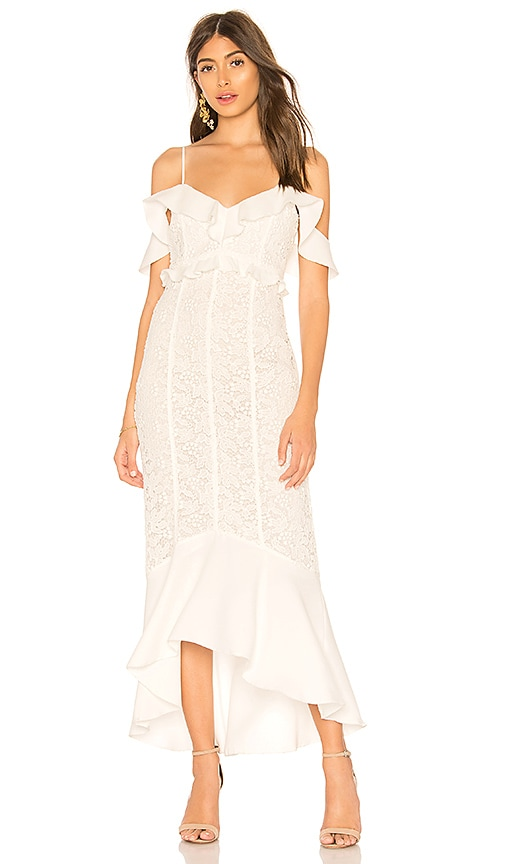 RACHEL ZOE Chloe Dress in White