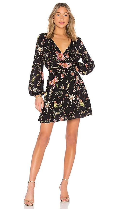RACHEL ZOE Drea Dress in Black