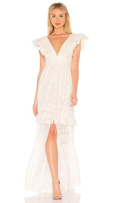 299dd338 RACHEL ZOE Violet Gown in Ecru | REVOLVE