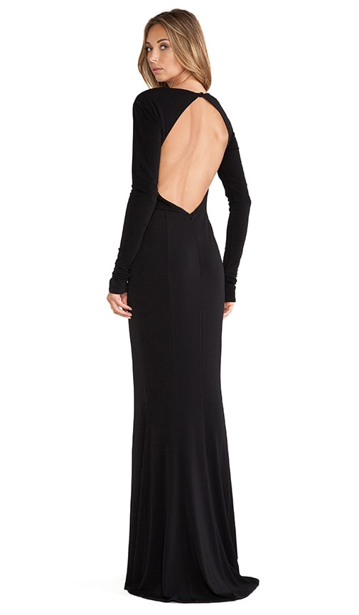 Liana Open Back Maxi Dress