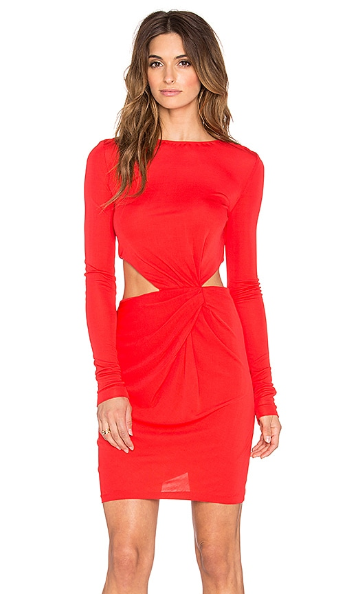 Shay Drape Mini Dress