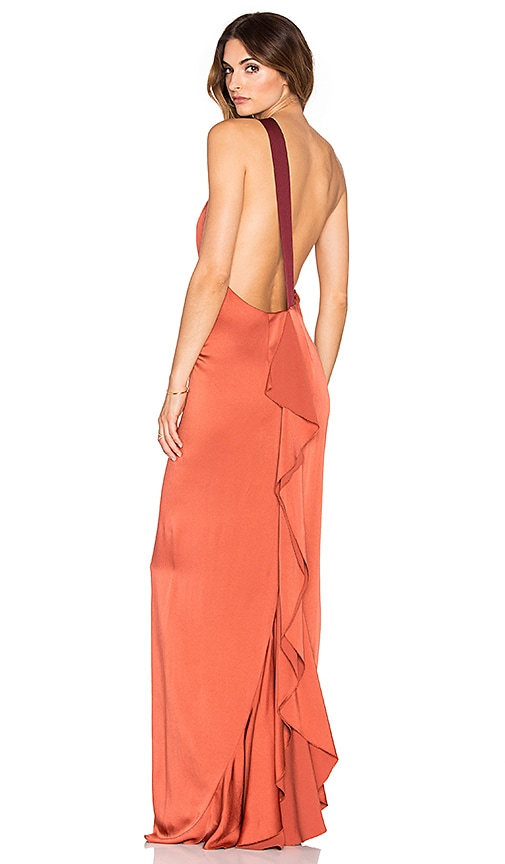 Sandy One Shoulder Gown