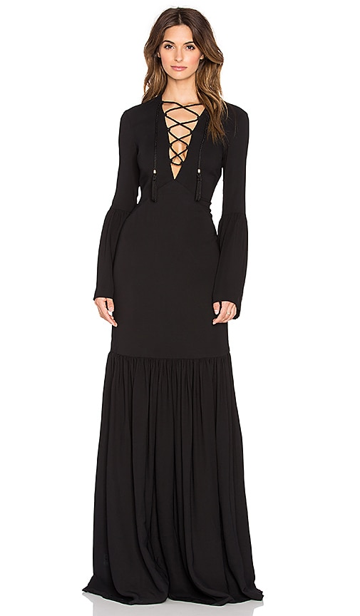 Pax Lace Up Gown