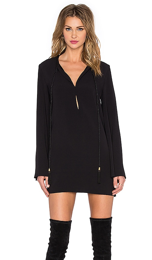 RACHEL ZOE Norby Dress in Black