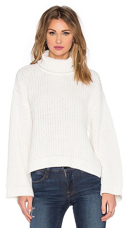 RACHEL ZOE Jordy Sweater in Ivory