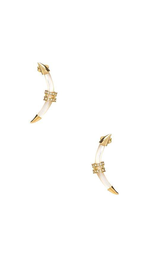 Crescent Earring