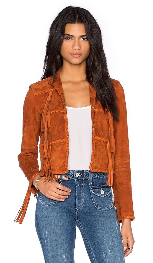 RACHEL ZOE Honor Jacket in Rust