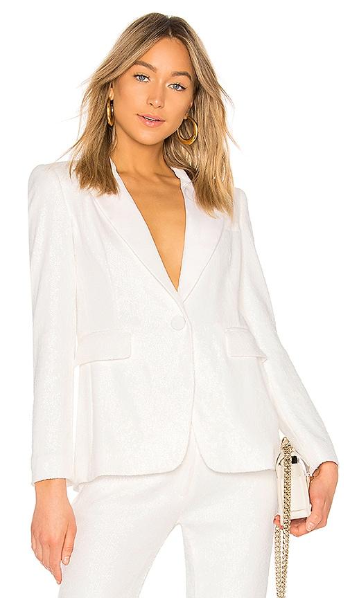 RACHEL ZOE Amber Jacket in White