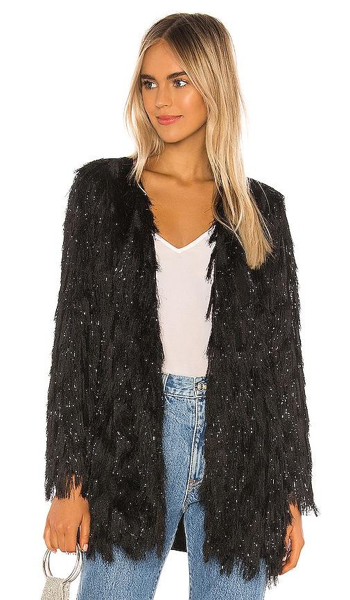 70s Jackets, Furs, Vests, Ponchos RACHEL ZOE Sonny Jacket in Black. - size S also in M $174.00 AT vintagedancer.com