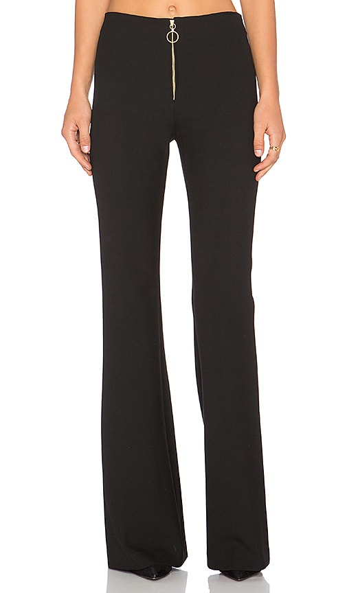 RACHEL ZOE Emmy Pant in Black