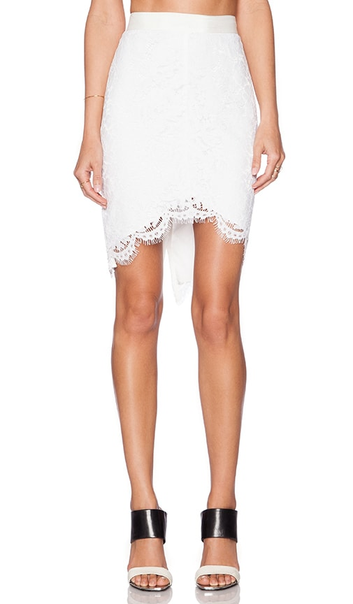 Jules High Low Lace Skirt