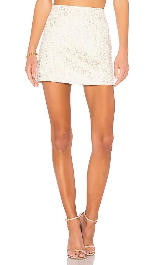 RACHEL ZOE Twain Skirt in Ivory